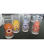 4 Care Bear Vintage 1983 Complete Pizza Hut Glasses Grumpy Cheer & Tende... - $50.00