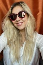 New WILL.I.AM WA004S03  47mm Matte Red Mirrored Round Unisex Sunglasses - $119.99