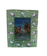Blue Deep Ocean Sea Beach Fishes Summer Swimming Picture Photo Frame 3.5... - $39.99