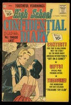 HIGH SCHOOL CONFIDENTIAL DIARY #11 1962-CHARLTON FN - $75.66