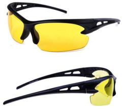 Shooting Safty Glasses Yellow Tac No glare shooting glasses New - $19.79