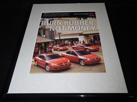 1999 Dodge SXT Framed 11x14 ORIGINAL Vintage Advertisement - $32.36