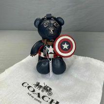 NWT Coach │ Marvel Captain America Collectible Bear Bag Charm #2752 - $85.00