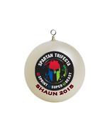 Personalized Spartan Race Trifecta Christmas Ornament Custom #3 - $16.95