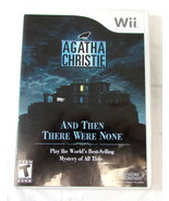 Nintendo Game Agatha christie: and then there were none - $9.99