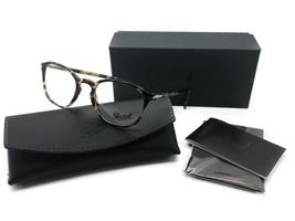 Persol RX Eyeglasses Frames 3178 V 1056 52-20-145 Brown Beige Tortoise I... - $116.37