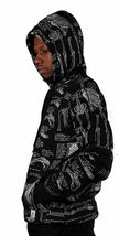 40 Oz New York NY 40 Bones Black Pullover Hoodie Hooded Sweater NWT image 4
