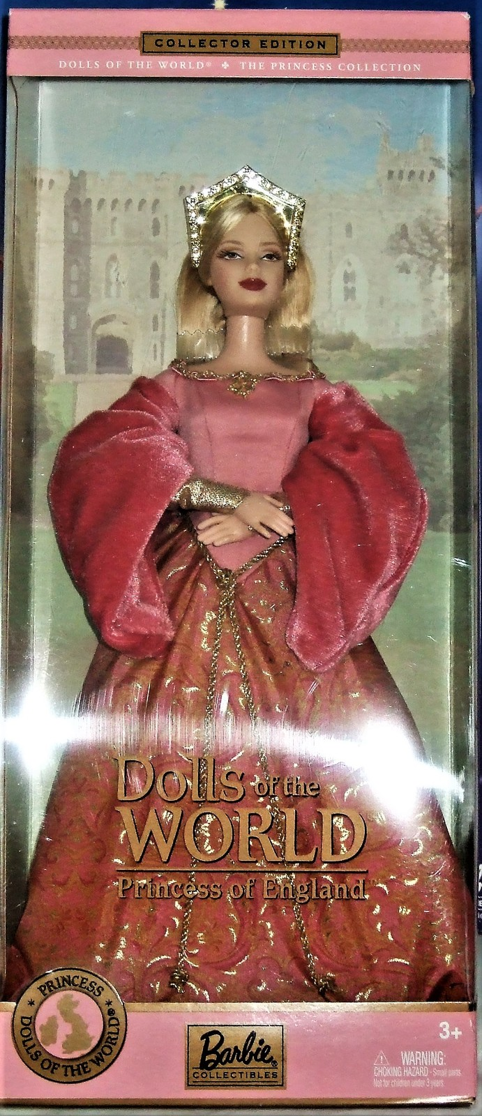 Barbie Doll - Dolls of The World Princess of England - The Princess Collection