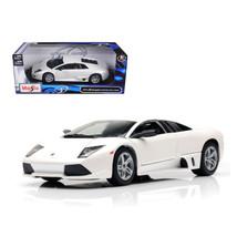 2007 Lamborghini Murcielago LP640 White 1/18 Diecast Model Car by Maisto 31148w - $41.99