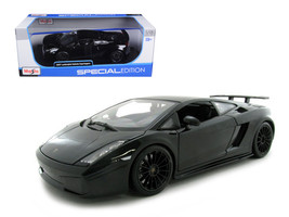 2007 Lamborghini Gallardo Superleggera Black 1/18 Diecast Model Car by M... - $67.99