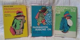 Lot of 3 Paddington Bear books - $19.80