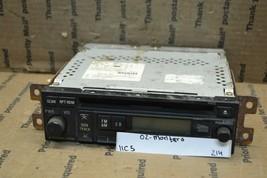 02-03 Mitsubishi Montero AM FM Audio Stereo Radio MR587269 Receiver 214-11C5 - $65.44