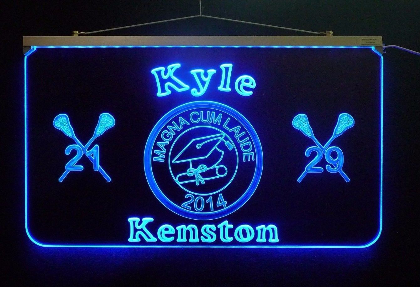 Lighted Graduation Sign, Personalized Graduation Gift, Decor, Graduation Party