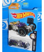 Hot Wheels 2017 Factory Set Fright Cars Street Creeper Purple - $2.50
