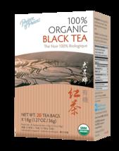 Prince of Peace Organic Black Tea, 20 Tea Bags - $4.32