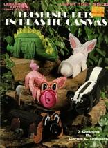 Freshener Pets in Plastic Canvas Leaflet Dragon Rabbit Dog Skunk Cat Squ... - $5.00