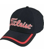 NEW! TITLEIST TPU Performance Fitted Cap [S/M]-Black/Red - $59.28
