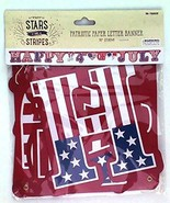 Happy 4th of July Banner - Measures 7.66 Feet Long - $14.99