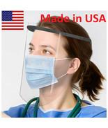 2pk Oakridge Protective Face Shield Visor Adjustable Transparent Face Co... - $12.95