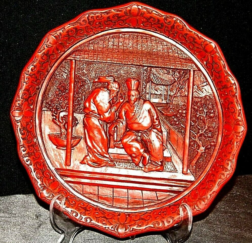 """The Betrayal""""  Commemorative Plate by The Ming Dynasty AA20-CP2335 Vintage Calho"""