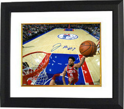 Jahlil Okafor signed Philadelphia 76ers 16x20 Photo Custom Framed #8 (ho... - £94.70 GBP