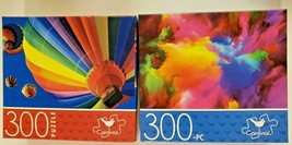 300 pc Cardinal Jigsaw Puzzle Lot of 2 Boxes New Sealed- Ballooning/Colo... - $9.99