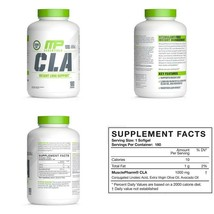 Mp Essentials Cla 1000 High-Potency, Natural Weight-Loss Exercise Enhanc... - $19.62