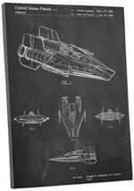"""Pingo World 1223PKMWNVG """"Star Wars A-Wing"""" Gallery Wrapped Canvas Print, 20"""" x 3 - $54.40"""