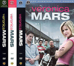 Veronica Mars Complete Seasons 1-3 DVD 2013 Set Collection Lot TV Show S... - $79.19