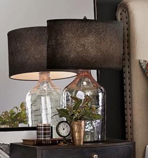 Pottery Barn Teen Burgundy Beaded Fabric Chandelier Lamp Shade
