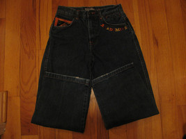 JEANS AKADEMIKS DENIUM JEANS THE POWER OF JEANIUS SIZE12 EMBELLISHED EMBROIRERY  image 4