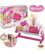 Nenuco - Baby Cot Sleep with Me Bracelet Interactive With Cot Super Baby... - $292.58