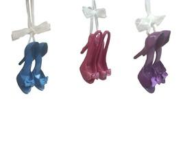 Kurt S. Adler Bow High Heel Shoe T1081 Ornaments Multicolor - $44.24