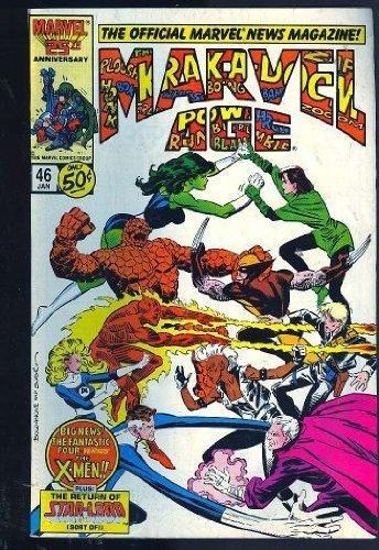 Marvel Age   #53 [Comic] by