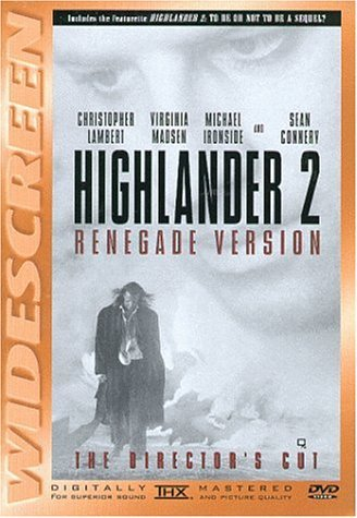 Highlander 2 - Renegade Version (The Director's Cut) [DVD] (2001)