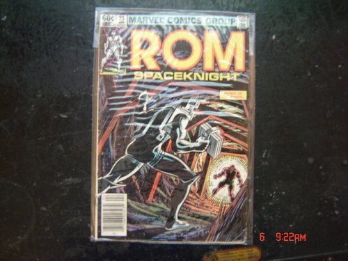 Rom Spaceknight (No. 29) [Comic] by Sal Buscema