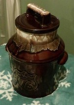 Brown milk can cookie jar-Bicentenial-1776-1976----McCoy - $46.75