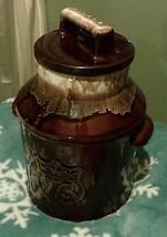 Brown milk can cookie jar-Bicentenial-1776-1976----McCoy - $37.40