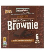 Nature's Bakery Double Chocolate Brownie Twin Packs - 6 CT (2 PACKS) - $18.95
