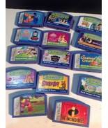 Leapfrog Leapster Lot 14 Great Disney Games Thomas The Train Nemo Toy Story - $25.74