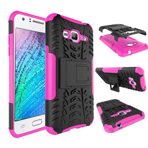 Dual Layer Hybrid Stand Cover Case For Samsung Galaxy Express Prime - Ho... - $4.99
