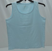 7e82f22b875dad by Chico's Baby Blue Tank Top Size 2 - Large - $7.95