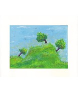 """Trees - Acrylic on Canvas Board - Prints Available 10"""" X 8"""" - $35.00"""