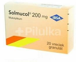 Solmucol 200 mg gra 20 sachets - dissolves all types of mucus - $23.33