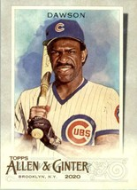 2020 Topps Allen & Ginter Andre Dawson #64 Chicago Cubs - $0.94
