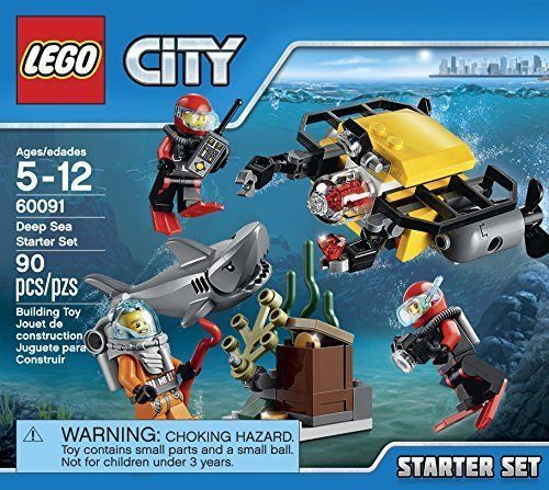 Lego City 60091 Deep Sea Starter Set  [New] Building Kit