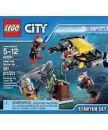 Lego City 60091 Deep Sea Starter Set  [New] Building Kit - $49.99
