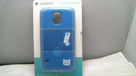 Logitech hard shell Magnetic mount compatible Case for Samsung Galaxy S5 blue - $5.86