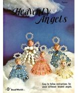Y455 Bead PATTERN Book ONLY Beaded Heavenly Angels Christmas Ornaments V... - $27.50