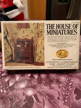 Chippendale Night Stand Circa 1750-1790 The House of Miniatures Brand New Sealed - $12.99